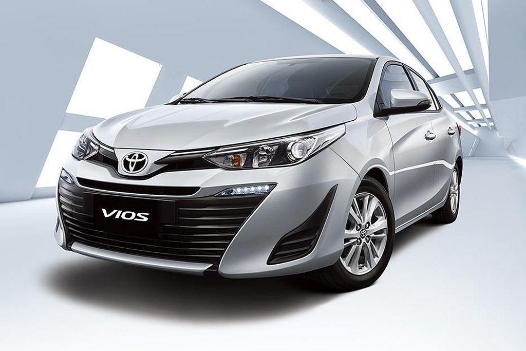 去年未進Top 10排行榜的Toyota Vios,今年前三季以7,110輛銷售...
