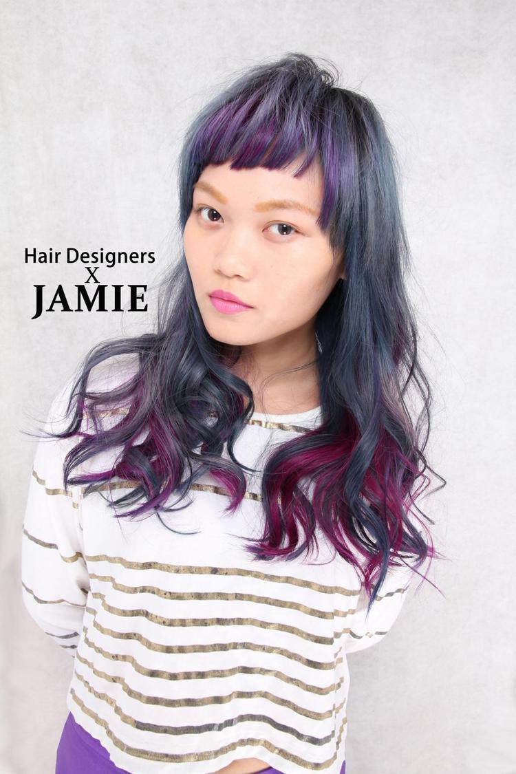 髮型創作/新莊捷米Jamie設計師。圖/StyleMap提供