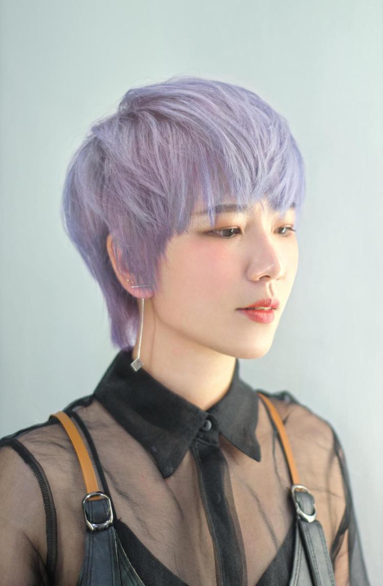 髮型創作/Andy (蔡子葵)。圖/StyleMap提供