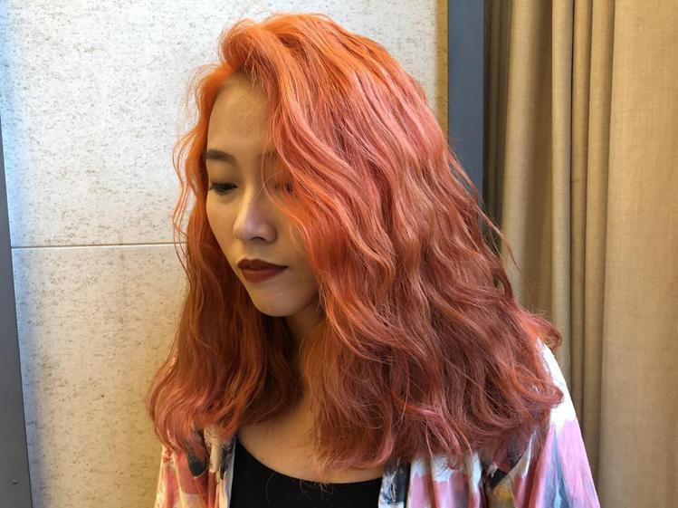 髮型創作/ann。圖/StyleMap提供