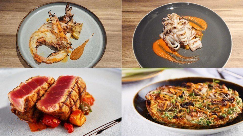 MUCHOYAKI展現更多料理活力,以多樣創意推出如「澳洲虎蝦」、「東北角近海花...