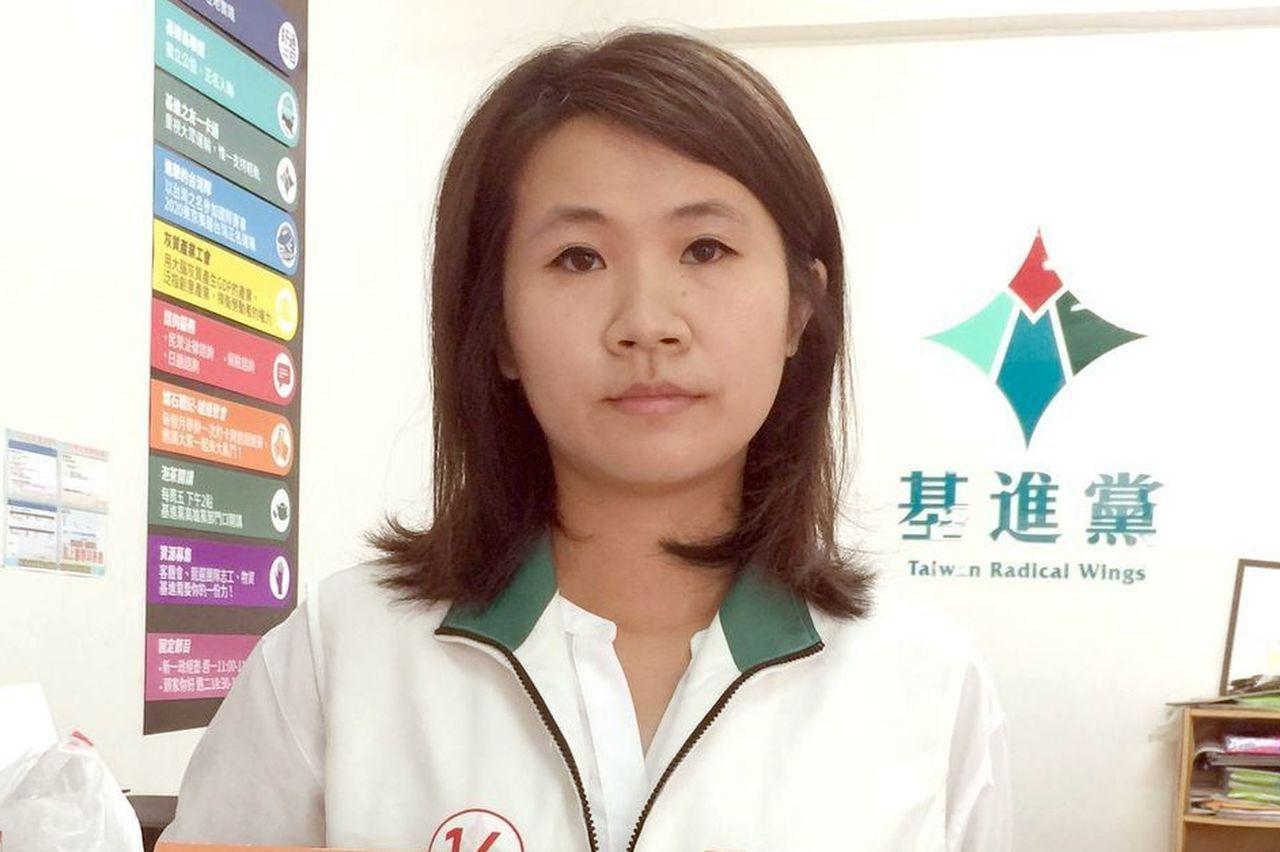 頂著研究所學歷的基進黨李雨蓁,發揮專業打一場沒有資源竹選戰。(本報資料照片)