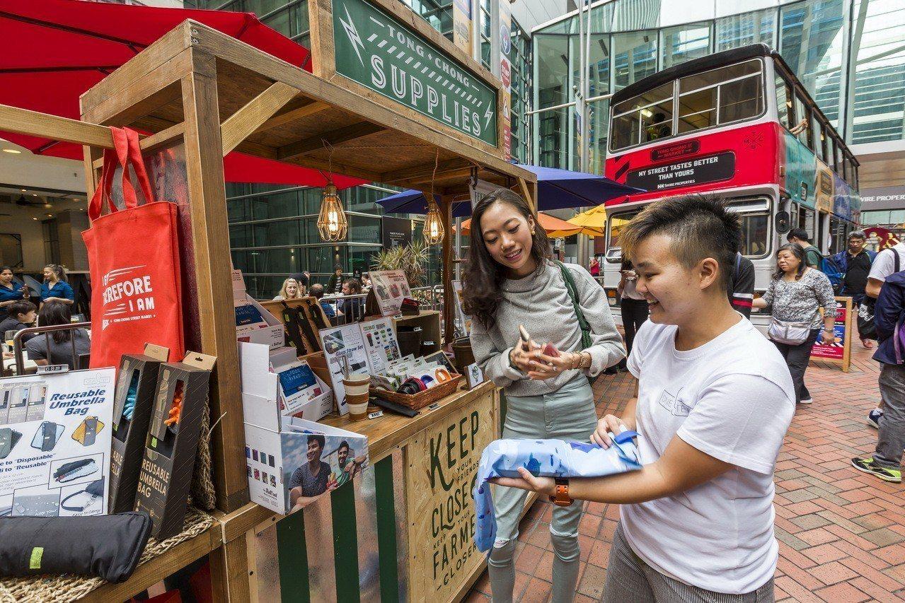 糖廠街市集。圖/港旅局提供
