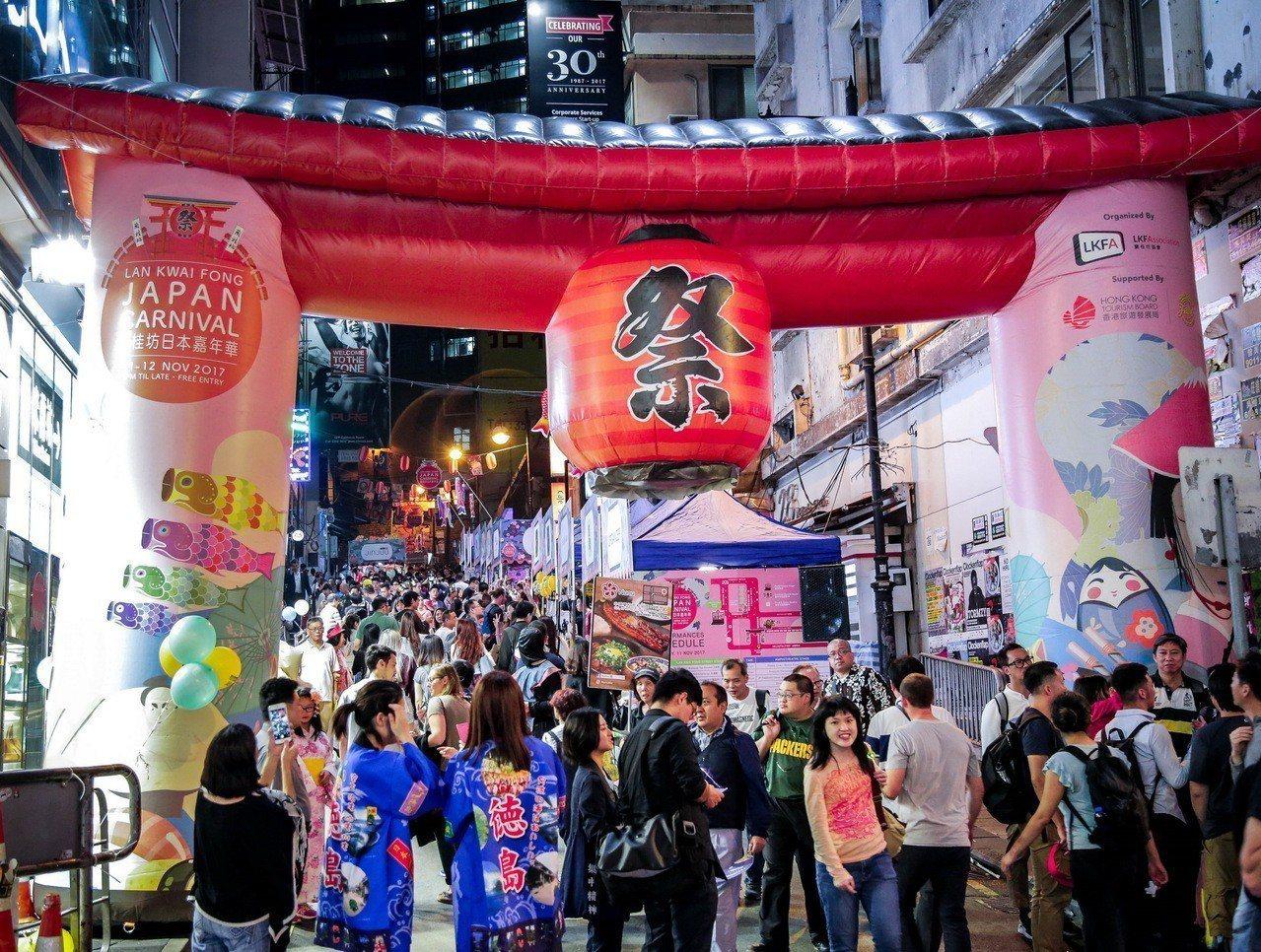 蘭桂坊秋季市集只有兩天!圖/港旅局提供