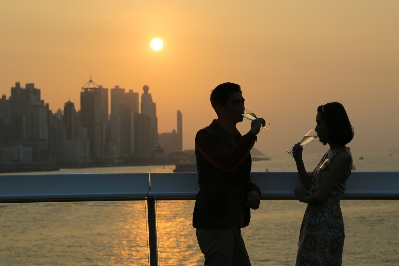 海港城海運觀點日落派對。圖/港旅局提供