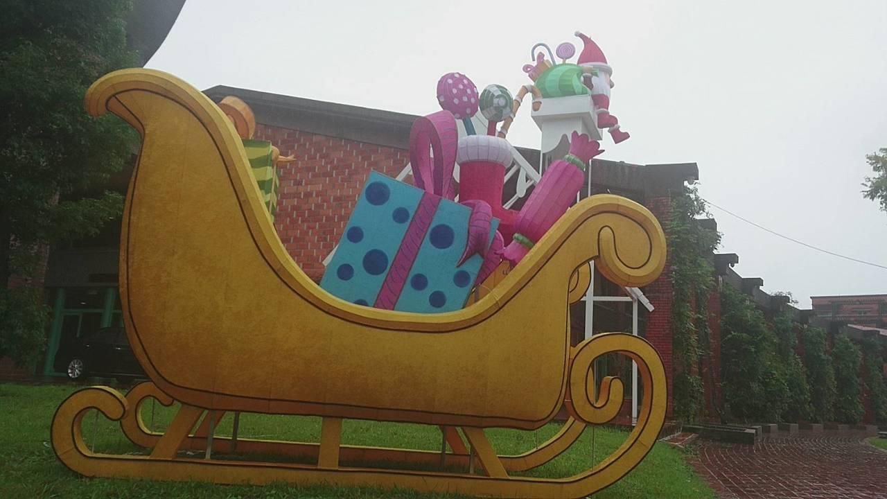 宜蘭又有新景了!縣政府打造「宜蘭奇幻耶誕」,即將登場,麋鹿進駐,拖車來了,耶誕老...