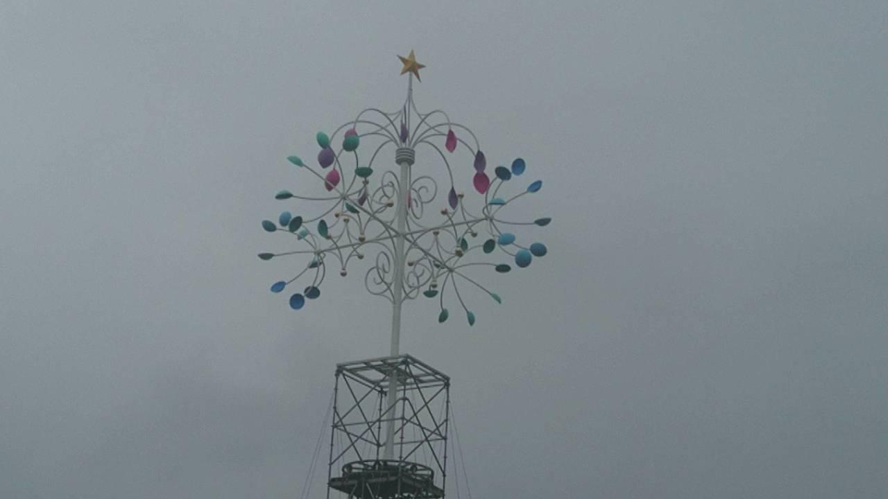 宜蘭又有新景了!縣政府打造「宜蘭奇幻耶誕」,即將登場,麋鹿進駐,21公尺高的彩色...