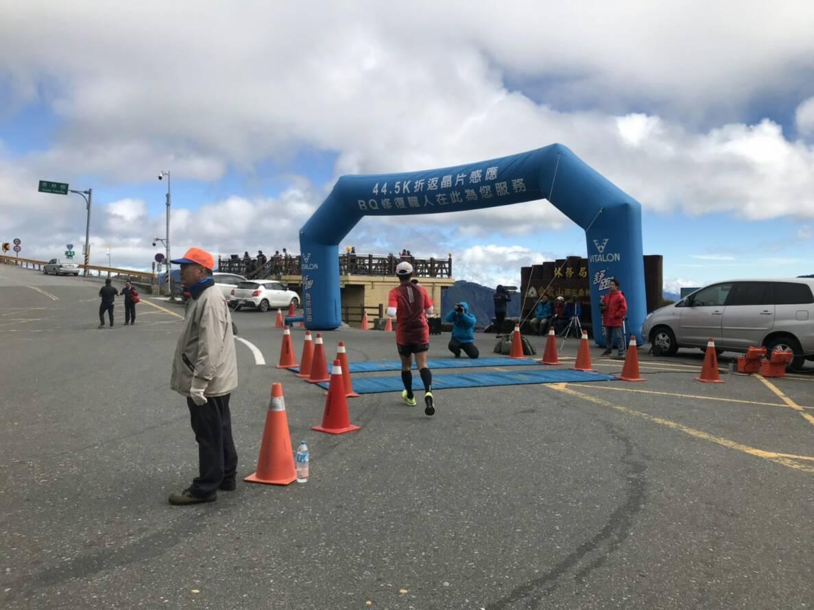 號稱全台最高的合歡山馬拉松路跑賽,出現選手在終點前倒地猝死意外。 聯合報系資料照...