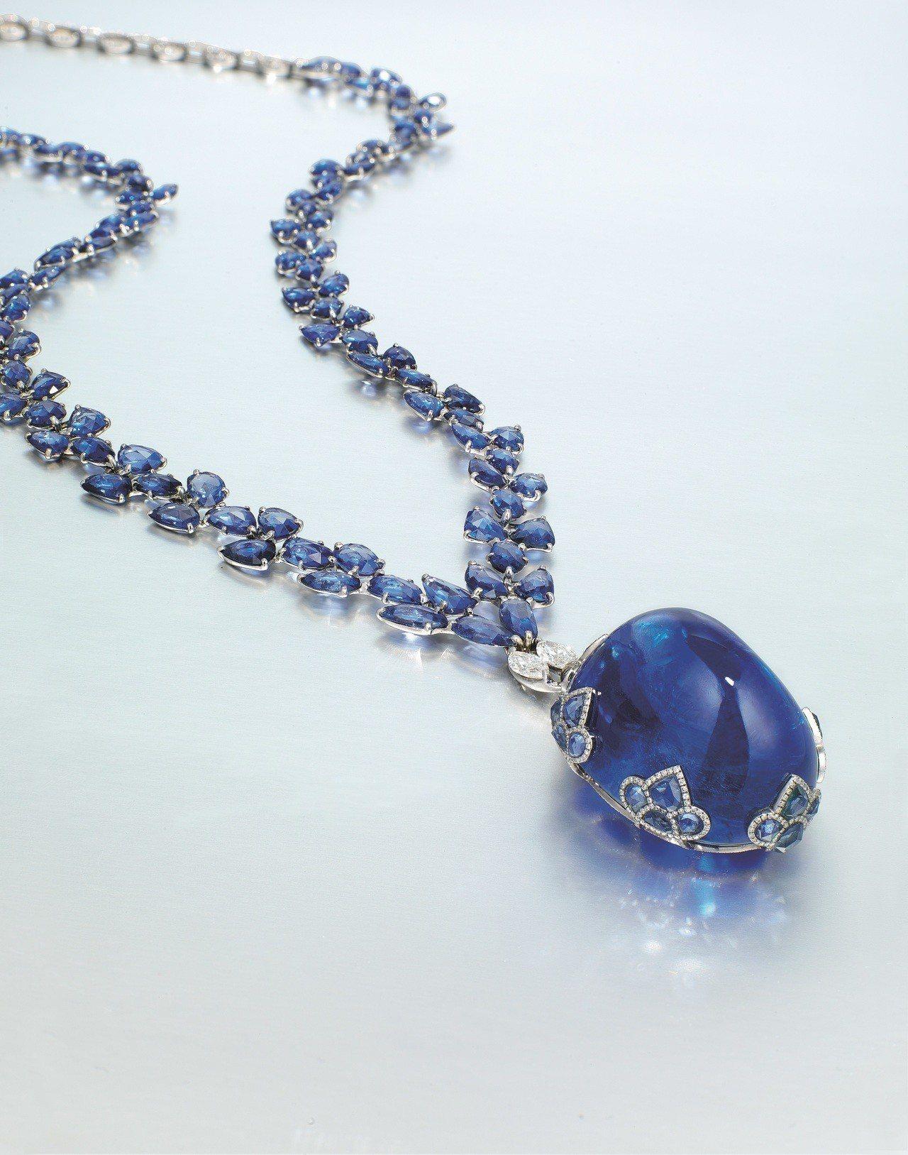 金氏世界紀錄是最大蛋面藍寶石「The Ultimate Mogok Blue T...