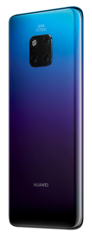HUAWEI Mate20 Pro極光色。圖/華為提供