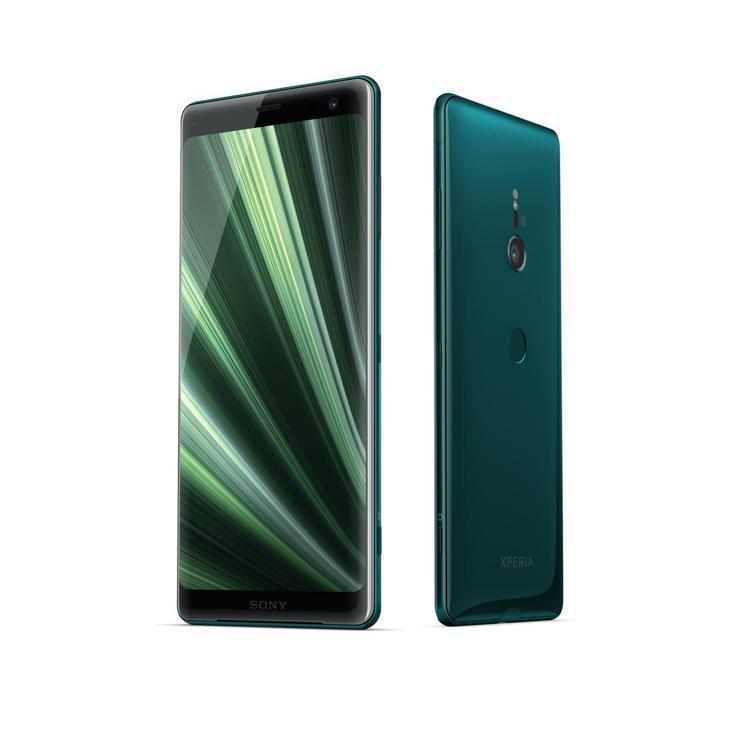 Sony Xperia XZ3青森綠。圖/Sony Mobile提供