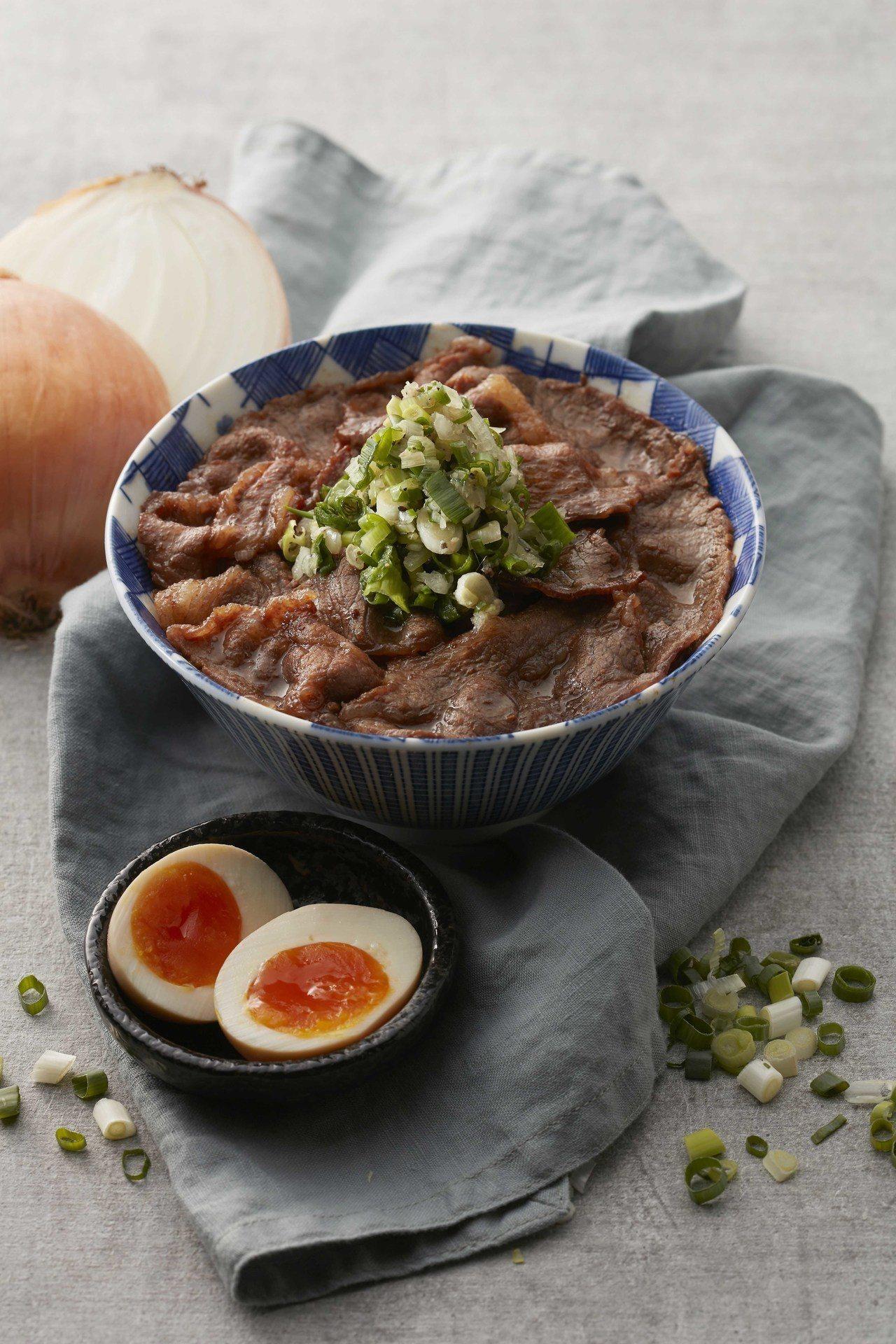 開丼推出雙11活動,消費指定商品可獲得鹽蔥燒肉丼兌換券。圖/開丼提供