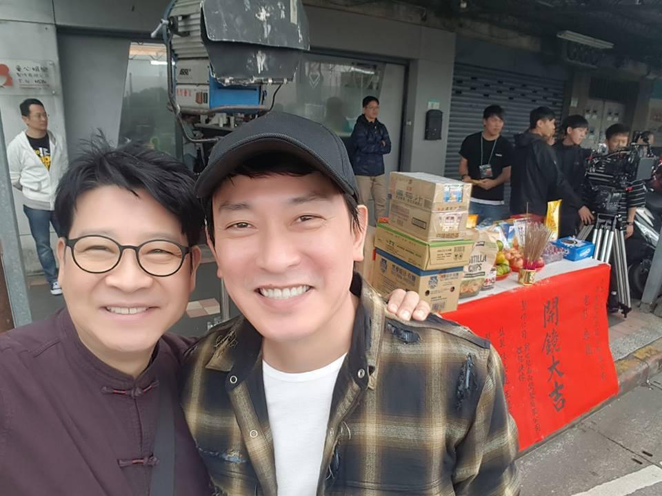 楊慶煌近日拍攝新戲。圖/摘自臉書