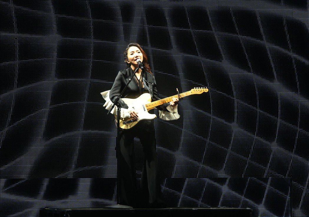 陶晶瑩3日在台北國際會議中心舉辦演唱會。記者林俊良/攝影