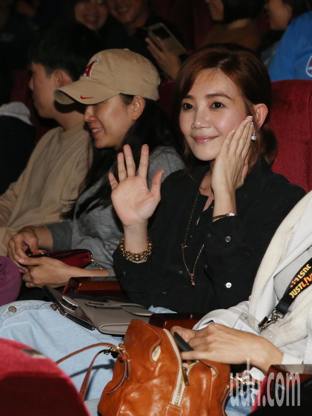 陶晶瑩演唱會眾星雲集 ,梁靜茹也到場。記者林俊良/攝影