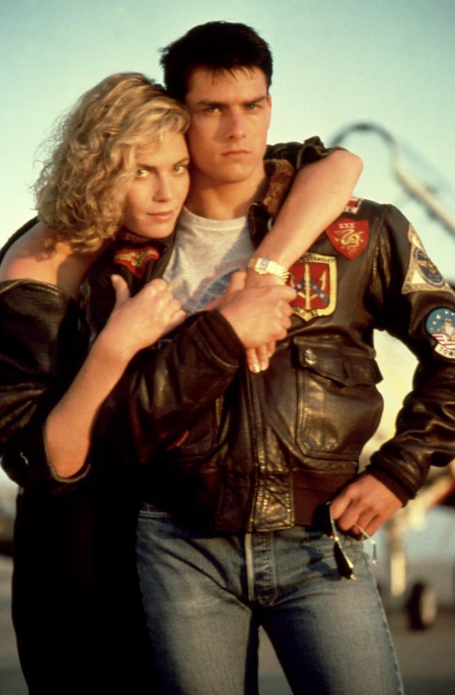 「捍衛戰士」湯姆克魯斯與凱莉麥姬莉絲大談銀幕姊弟戀。圖/摘自Cineplex