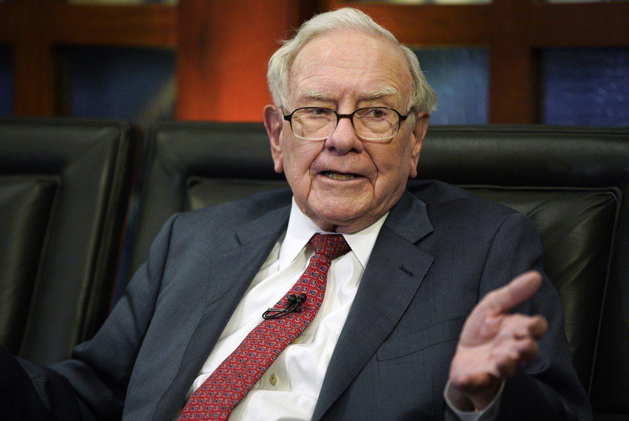 蘋果股價重挫,估計導致巴菲特單日帳面損失37億美元。 美聯社