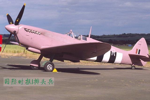 二戰「市場花園」行動前,英國皇家空軍就將執行照相偵察任務的「噴火」戰鬥機塗成粉色...