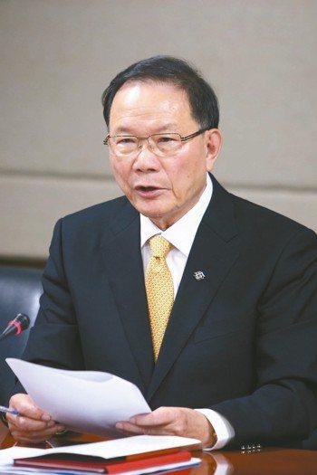 台塑董事長林健男。 本報系資料庫
