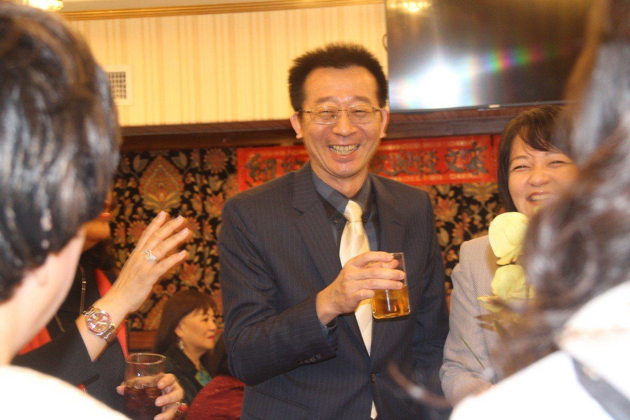 經文處副處長張俊裕。 記者賴蕙榆/攝影