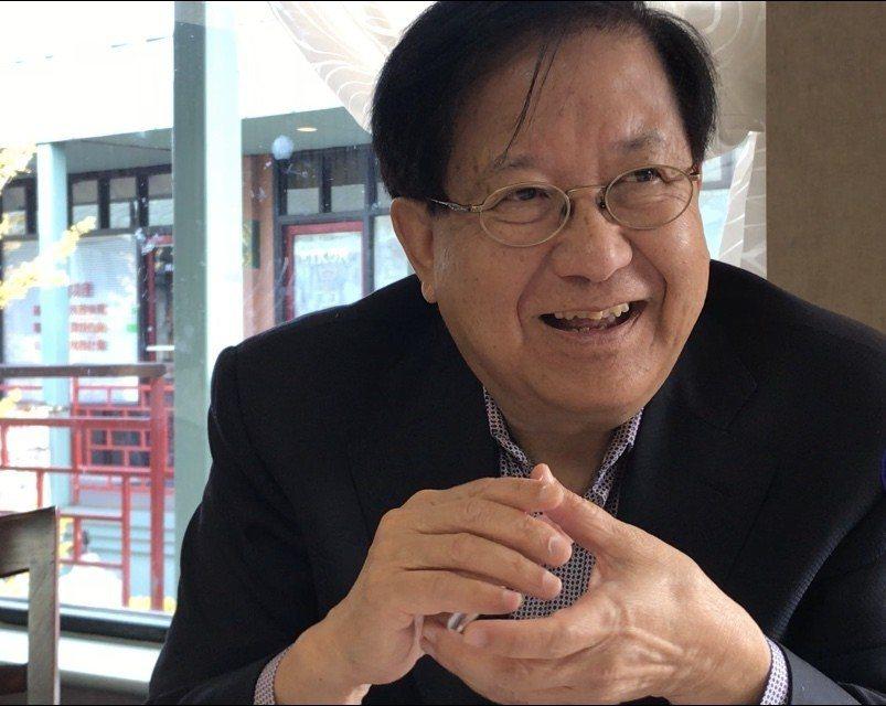梅國璋以父母之名慈善中美。 記者董宇/攝影