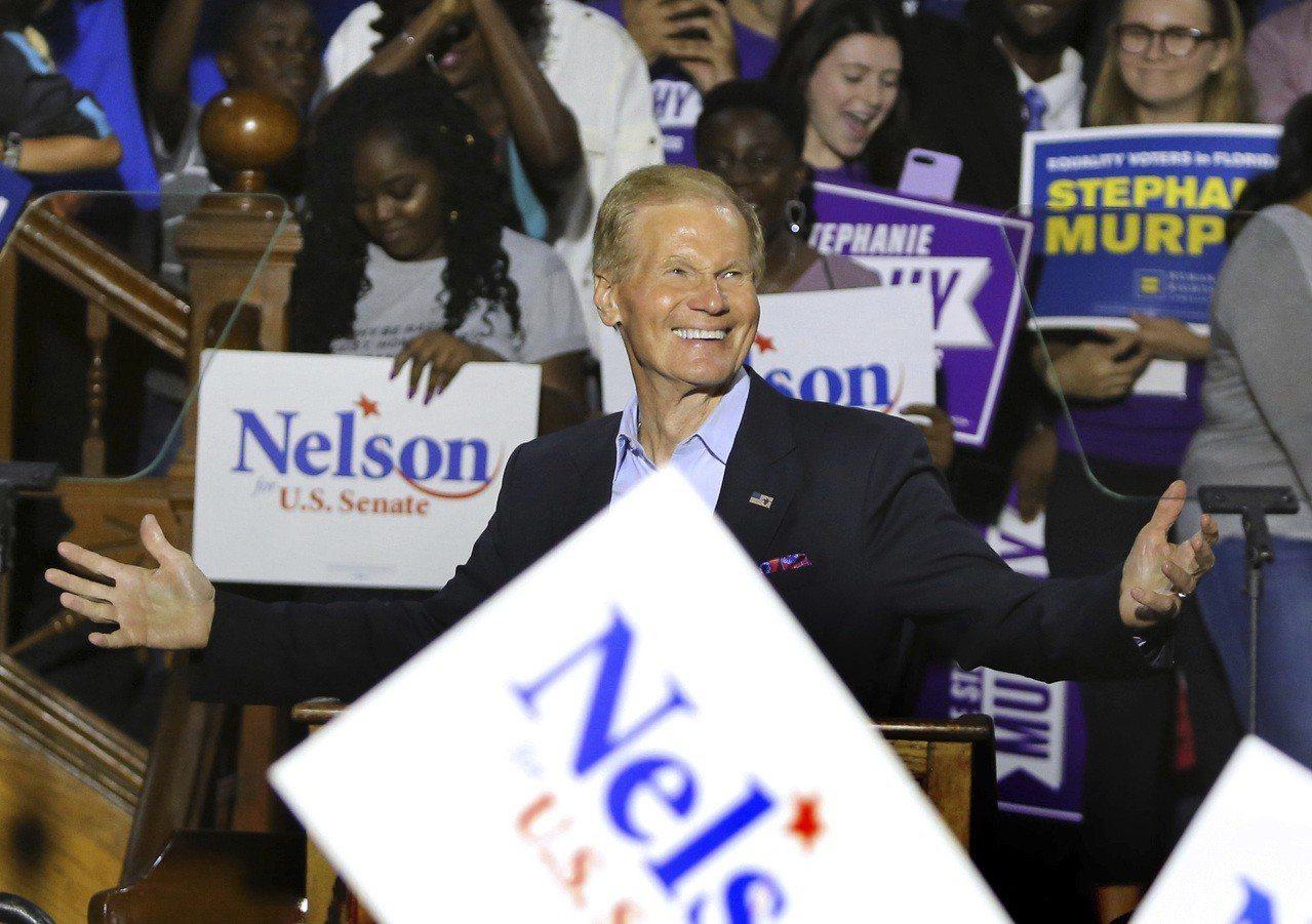 現任民主黨參議員尼爾森(Bill Nelson)。 美聯社