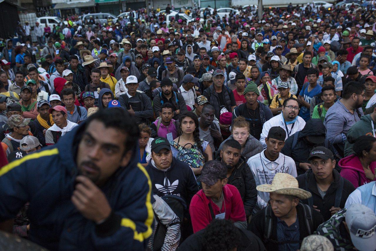 軍方評估顯示,只有少量移民會到達邊境。 世界日報記者趙元良/攝影
