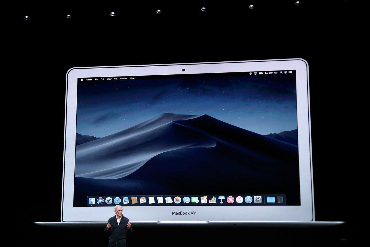 蘋果MacBook Air睽違八年進行大改版,預料將可刺激蘋果業績。 路透