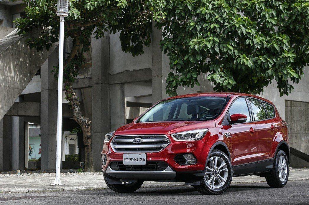 11月份入主Ford Kuga安全領航版享舊換新現金價NT$ 79.9萬元,交車...