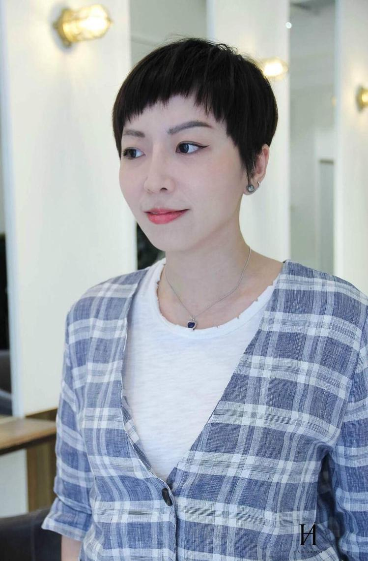髮型創作/James So。圖/StyleMap提供