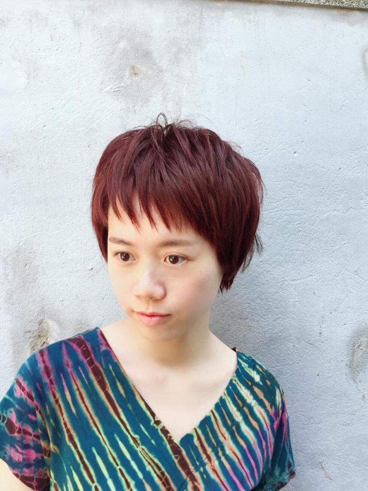 髮型創作/Nico.妮可施。圖/StyleMap提供