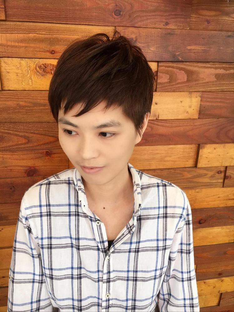 髮型創作/Shawn Hung。圖/StyleMap提供