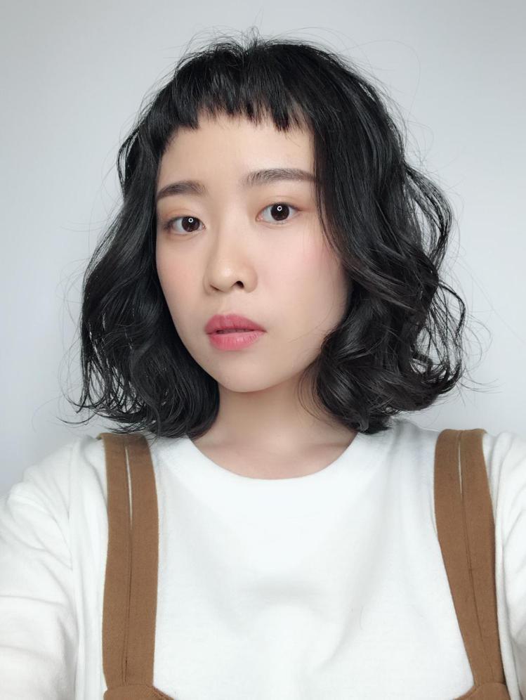髮型創作/Milly (米莉)。圖/StyleMap提供