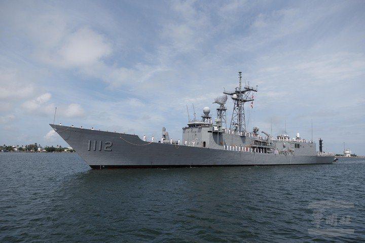 我對美國所採購派里級巡防艦-銘傳軍艦(PFG-1112)。軍聞社