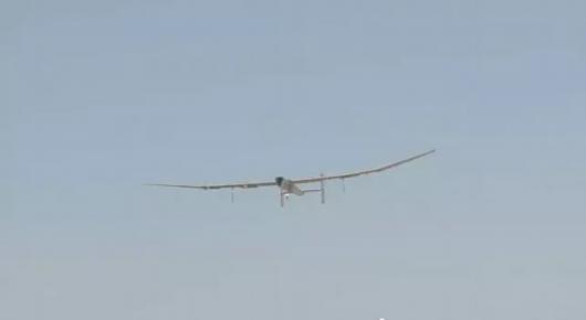 「啟明星」太陽能無人機首飛成功。(中國航空工業集團有限公司)