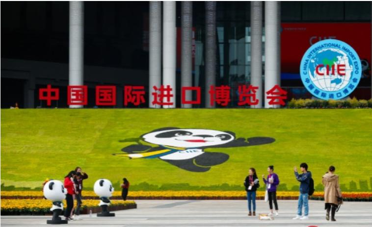 台資企業號稱也有近百家參展中國國際進口博覽會,不過,僅約30家食品文創商家從台灣...