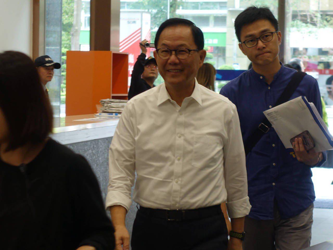 國民黨台北市長候選人丁守中。記者邱瓊玉/攝影