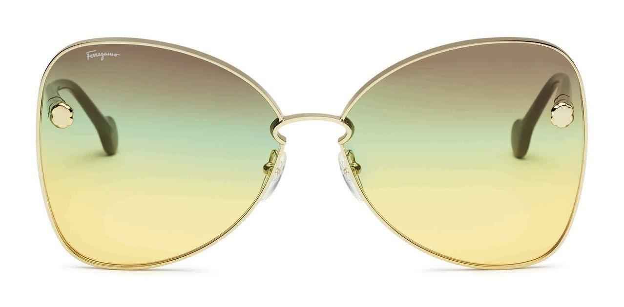 Ferragamo Fiore太陽眼鏡,16,500元。圖/Salvatore ...