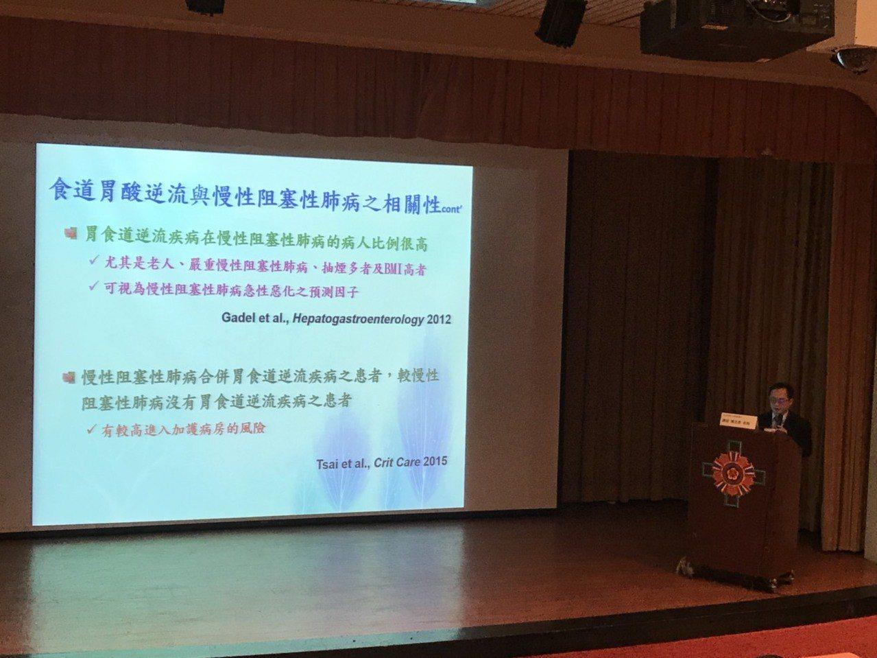 今年世界肺阻塞日是在11月21日,台灣慢性阻塞性肺病學會與台灣氣喘學會年會,今提...