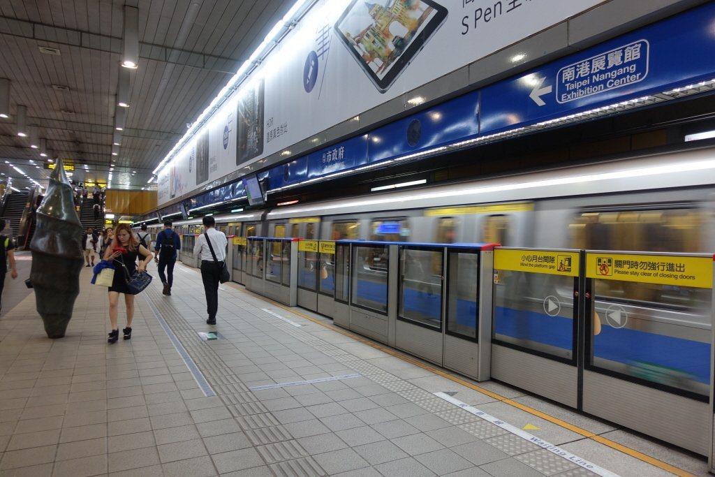 台北捷運示意圖,非新聞當事地點。圖/報系資料照