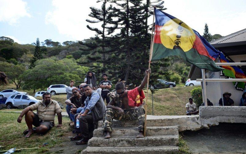 新喀里多尼亞4日舉行獨立公投。法新社
