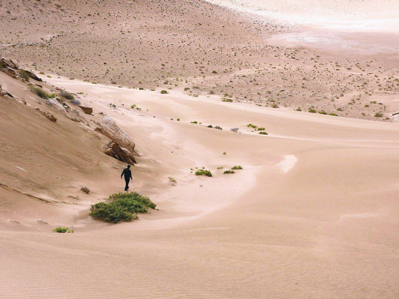 白沙漠。 圖/蔡適任提供