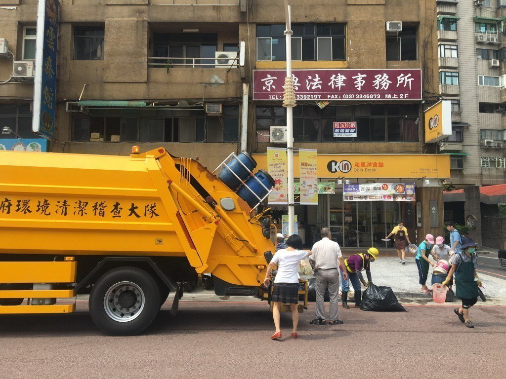 台北市環保局遭民眾爆料垃圾車違法酒駕。圖為示意圖,聯合報系資料照片
