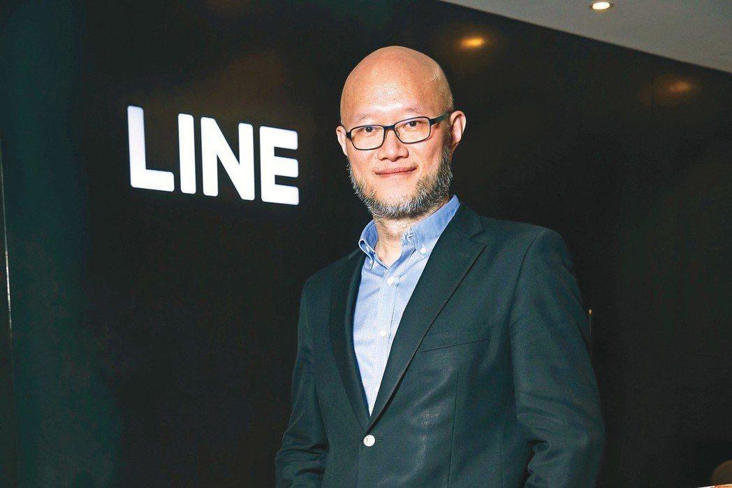 LINE台灣(台灣連加)總經理陳立人