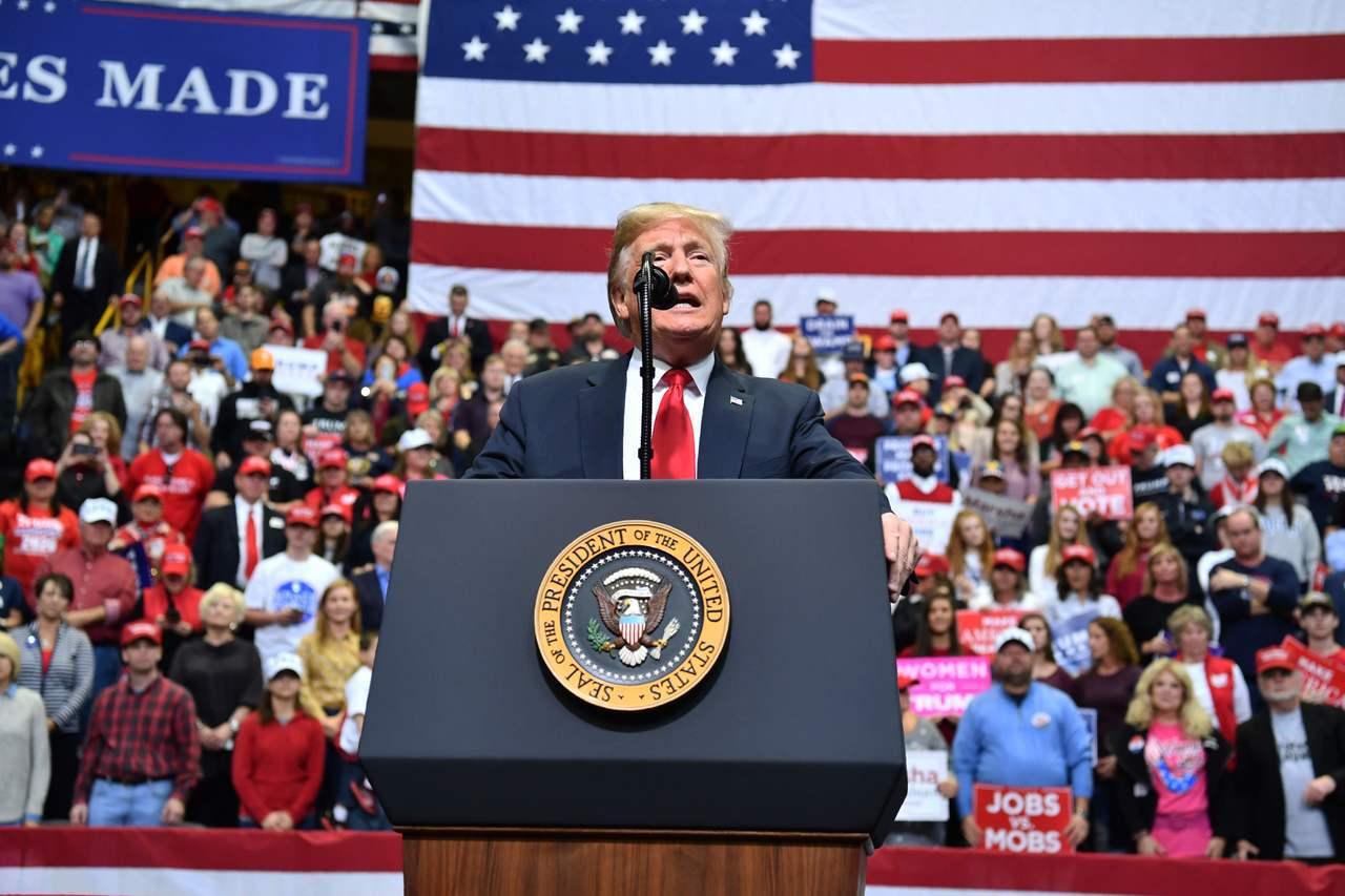被普遍視為「川普主義」(Trumpism)公投的期中選舉6日將登場。法新社