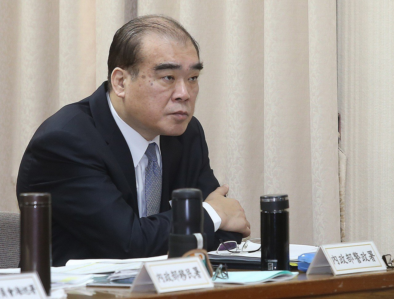警政署副署長邱豐光。 聯合報系資料照/記者高彬原攝影