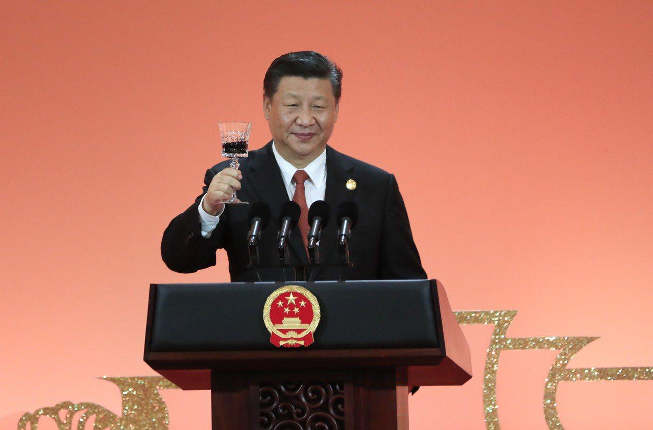 中國國家主席習近平。 中新社