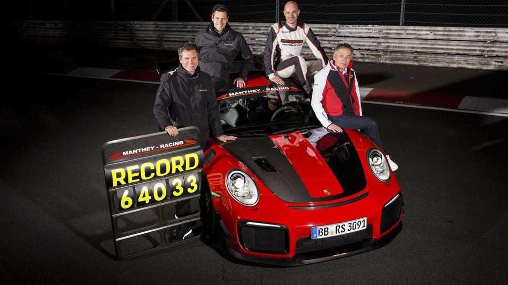 6分40秒33比原先911 GT2 RS快了近7秒鐘之多。 摘自Porsche