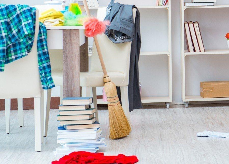 心理學家認為,房間髒亂可能代表心地善良。示意圖,圖片來源/ingimage