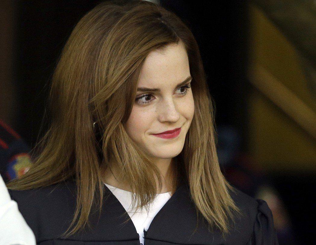 英國女星艾瑪華森(Emma Watson)。 (美聯社)